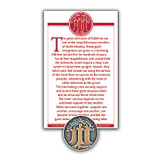 The Great Redwoods Lapel Pin 58