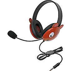 Califone Stereo Headset Bear w Mic