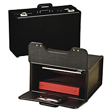 Stebco Vinyl Upright Catalog Case With