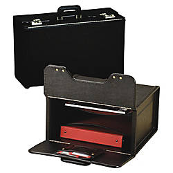 Stebco Vinyl Upright Catalog Case With