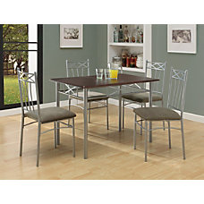 Monarch Specialties 5 Piece Dining Set