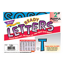 TREND Ready Letters Playful Uppercase 2