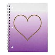 Divoga Spiral Notebook Hearts Collection 8