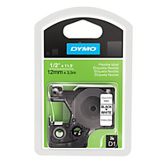 DYMO D1 16953 Fabric Black On