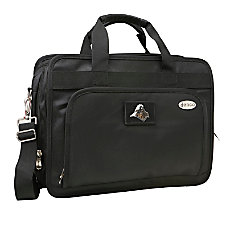 Denco Sports Luggage Expandable Briefcase With