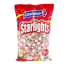 Colombina Peppermint Starlight Mints 5 Lb