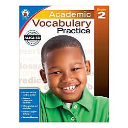 Carson Dellosa Academic Vocabulary Practice Workbook