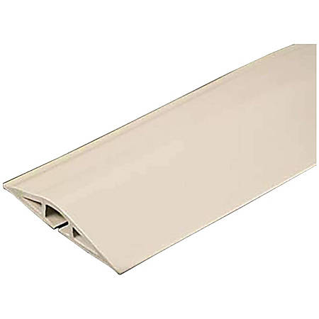 c2g 15ft wiremold corduct overfloor cord protector ivory by office depot amp. Black Bedroom Furniture Sets. Home Design Ideas