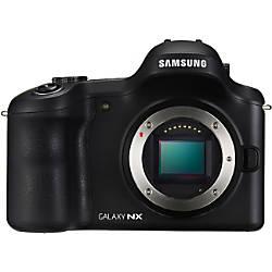 Samsung Galaxy EK-GN120 20.3 Megapixel Mirrorless Camera Body Only (Body Only) - Black