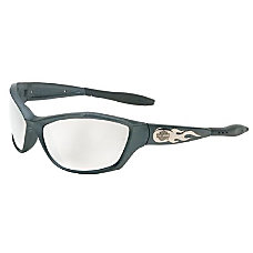 HD1000 SERIES SAFETY EYEWEAR GUNMETAL FRAME