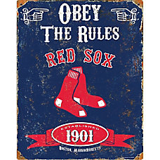 Party Animal Boston Red Sox Embossed