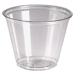 Dixie Crystal Clear Plastic Cups 9