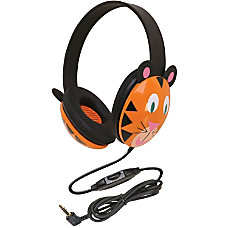 Califone Kids StereoPc Headph Tiger Pc