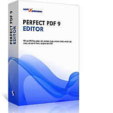 Perfect PDF 9 Editor Download Version