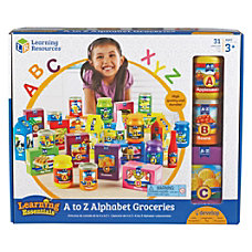 Learning Resources A Z Alphabet Groceries
