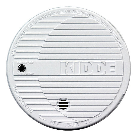 kidde fire smoke alarm white by office depot officemax. Black Bedroom Furniture Sets. Home Design Ideas