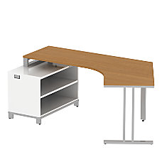 BBF Momentum Dog Leg Right Desk