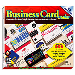 Business card maker by office depot officemax for Business cards at office depot