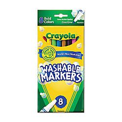 Crayola Bright Washable Markers Fine Point