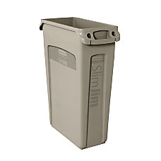 Rubbermaid Slim Jim Waste Container With