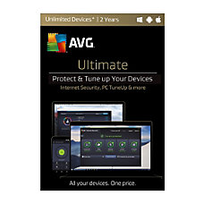 AVG Ultimate 2017 For Unlimited Devices
