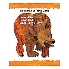 Macmillan Brown Bear Brown Bear Bill