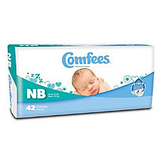 Attends Comfees Baby Diapers Size Newborn