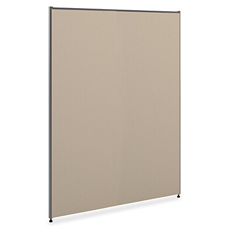 basyx by hon verse panel 60 h x 61 w gray by office depot