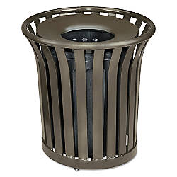 Rubbermaid Commercial Americana Series Round Steel