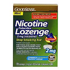 GoodSense Nicotine Polacrilex Lozenge 2mg Nicotine