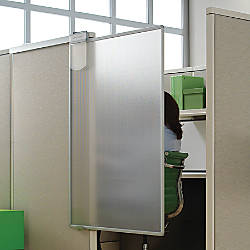 workstation privacy screen transparent by office depot officemax