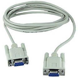 QVS Null modem cable