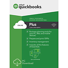 QuickBooks Plus 2017 Download Version