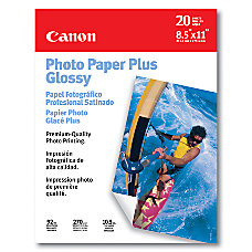 Canon Inkjet Photo Paper Plus Glossy