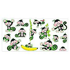 Trend Bulletin Board Set Monkey Mischief