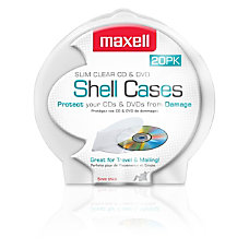 Maxell CD 356 Slim CDDVD Jewel