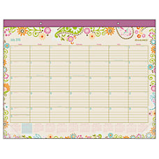 AT A GLANCE Academic Desk Pad