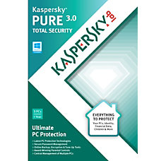 Kaspersky Pure 30 Traditional Disc