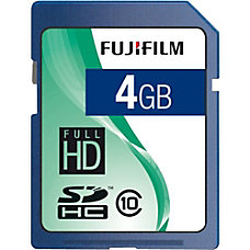 Fujifilm 600008928 4 GB SDHC