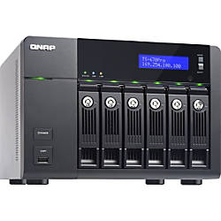 QNAP 6-bay Home & SOHO NAS for Personal Cloud and Multimedia Experience