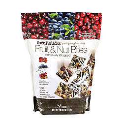 Focus Snacks Fruit Nut Bites Pack