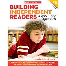Scholastic Teacher Resources Building Independent Readers