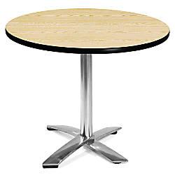 OFM Multipurpose Folding Table Round 36