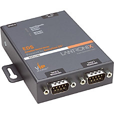 Lantronix 2 Port Secure Serial RS232