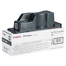Canon GPR 6 Black Copier Toner