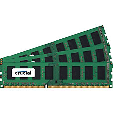 Crucial 12GB Kit 4GBx3 240 Pin
