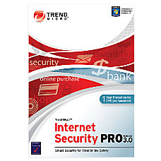 Trend Micro Internet Security Pro Traditional