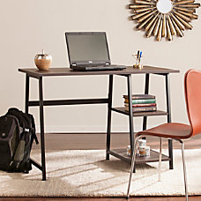 Southern Enterprises Austin Writing Desk Chocolate