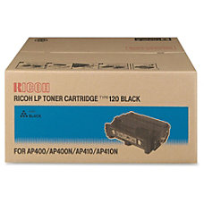 Ricoh Type 120 Toner Cartridge Black