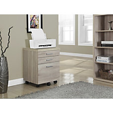 Monarch Specialties Filing Cabinet 3 Drawers